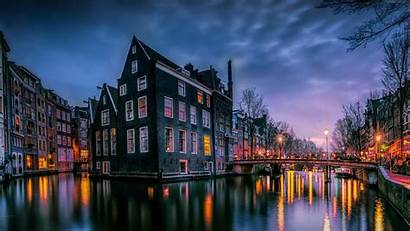 4k Architecture Amsterdam Channel Resolution Widescreen Abstract