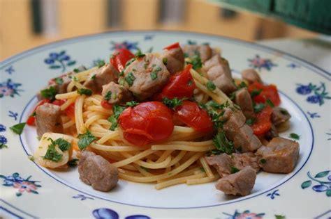 recette pate spaghetti frais spaghetti thon frais et tomates cerise la cuisine italienne