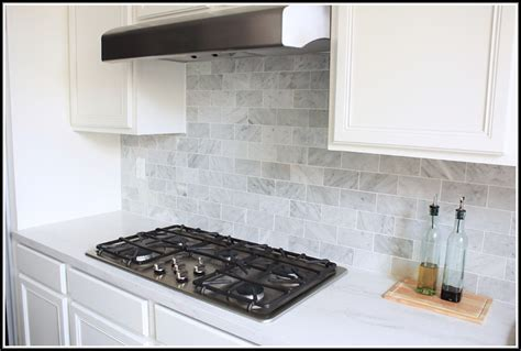 carrara marble kitchen backsplash carrara marble subway tile backsplash tiles home