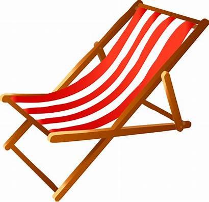 Chair Transparent Clipart Clip Deck Wooden Deckchair