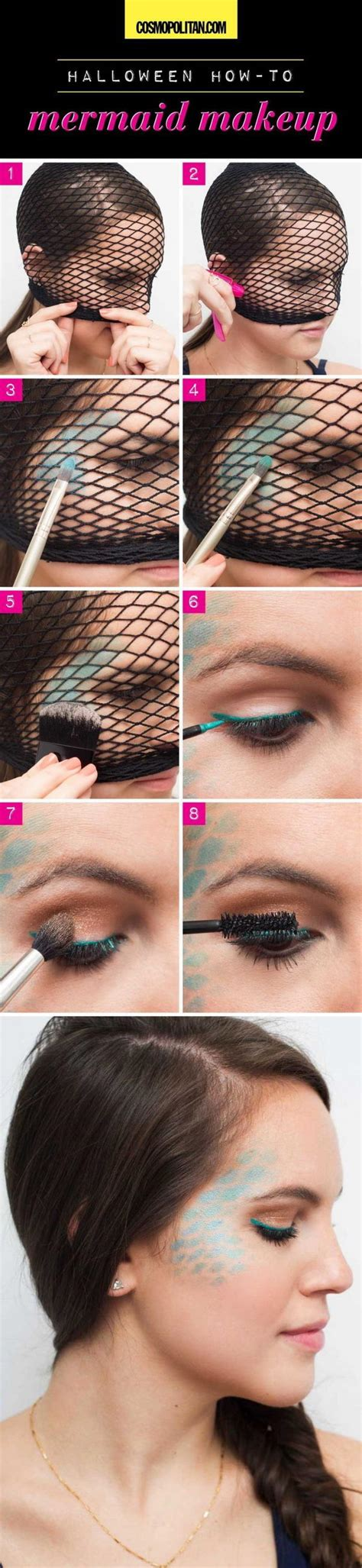 25+ Super Cool Step by Step Makeup Tutorials for Halloween - Hative