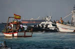 What S Fishing Boat In Spanish by Britain Says It Is Quot Concerned Quot At Spain S Gibraltar Border