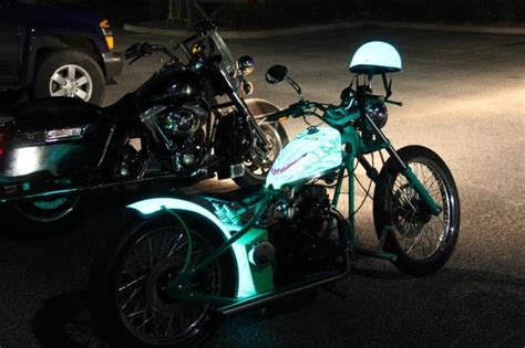 electroluminescent light up helmets td customs