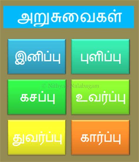 Six tastes of Food   Arusuvai Unnavu  Nithya's Nalabagam
