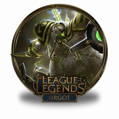 Urgot Icon League Legends Fazie69 Icons Gold