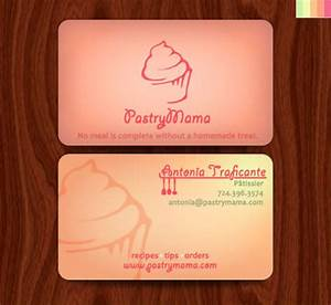 Bakery business cards 20 examples of pastry shop business for Sample bakery business cards