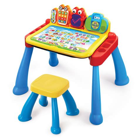 vtech learning activity desk top toys to get kids ready for back to huffpost