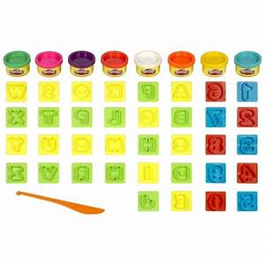 play doh numbers letters n fun art toy With play doh numbers letters n fun 35 pieces