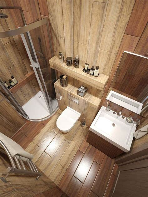 Fliesen Ideen Für Kleine Badezimmer by Bad Fliesen In Holzoptik An Wand Und Boden