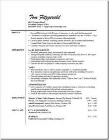 resume of thumb resume sles pcmech