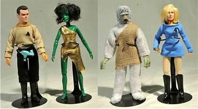 Trek Star Figures Diamond Horror Megos Mego