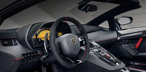 lamborghini aventador sv roadster interior lamborghini aventador lp750 4 superveloce roadster unveiled