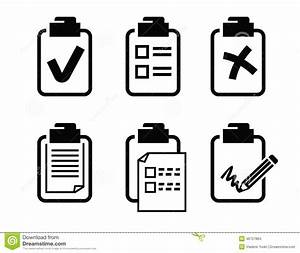 Clipboard Icon Stock Vector - Image: 46727884