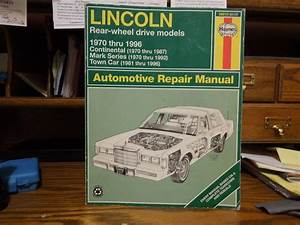 Find 1970 To 1996 Lincoln Repair Manual By Haynes