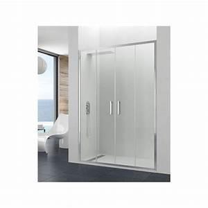 Paroi De Douche : paroi de douche double coulissante theia spazio robinet ~ Edinachiropracticcenter.com Idées de Décoration