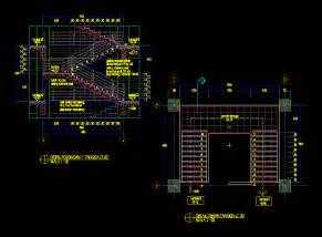 concrete stairs  dwg section  autocad designs cad