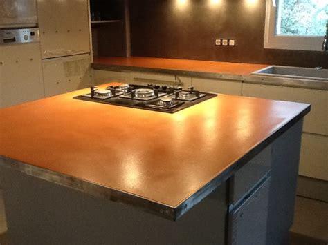beton ciré cuisine plan travail le beton design béton pour décoration d 39 intérieur la