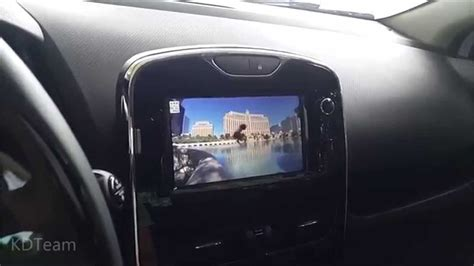 renault clio iv   mediaskin video player medianav