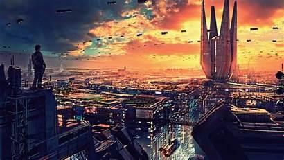4k Futuristic Wallpapers Science Fiction Future Cityscape