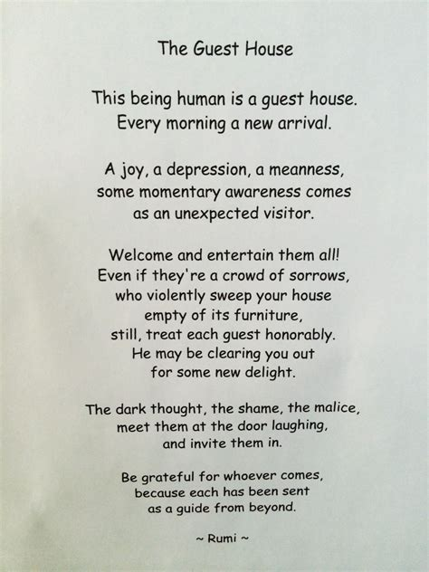 the guest house by rumi writing in airplanes
