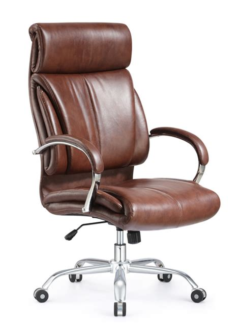 ergonomic style and vintage high back leather office chair