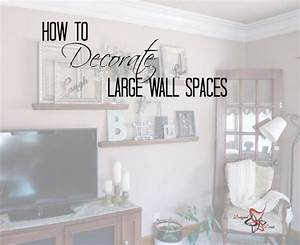 how to decorate a large wall designed decor With how to decorate a wall with pictures