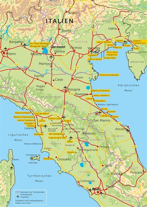 grado italien landkarte kleve landkarte