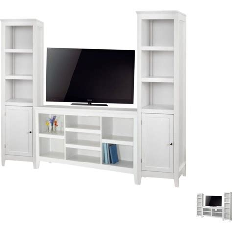 horizontal bookcase with drawers tv unit living room threshold carson horizontal
