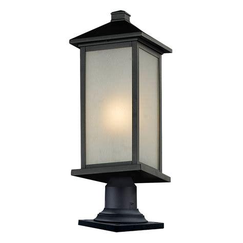 z lite vienna pier mount light lowe s canada
