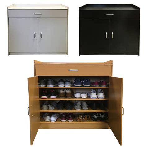 white shoe storage cabinet redstone shoe storage cabinet rack black white beech 4