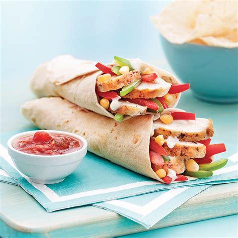 tortilla au poulet à la mexicaine recettes cuisine et nutrition pratico pratique