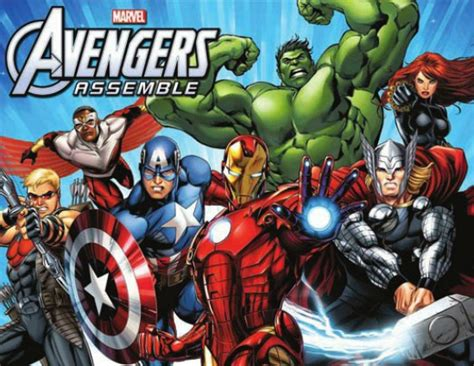 Avengers Assemble And Hulk And The Agents Of S