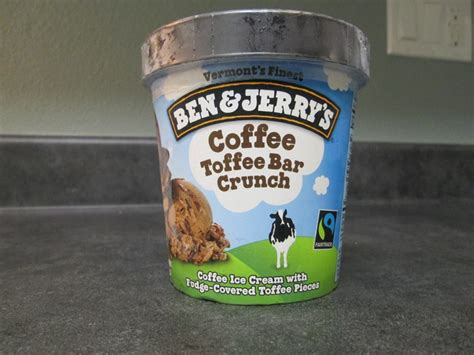 This time, i tried the vanilla toffee crunch and i think it.is my new favorite! David's Ice Cream Reviews: Ben & Jerry's - Coffee Toffee Bar Crunch