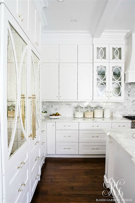 decorative glass for kitchen cabinets to light kitchen before and after white 8584