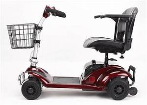 270W Four Wheel Scooters Elderly 4 Wheel Electric Mobility ...