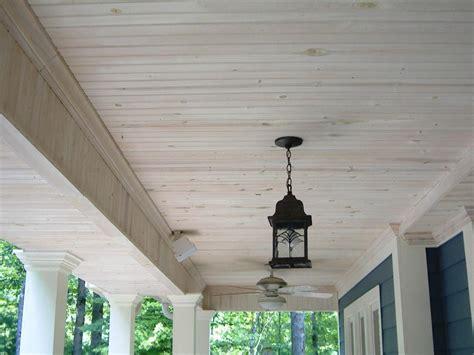 Vinyl Beadboard Porch Ceiling