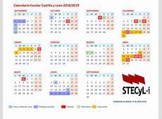 Calendario Escolar 201819 centros docentes, enseñanzas no