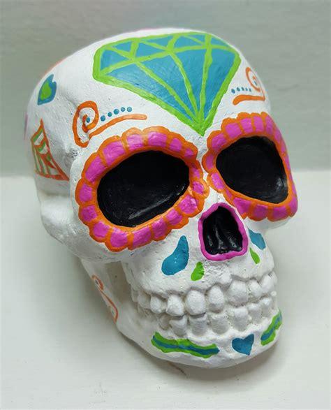 sugar skull home decor sugar skull calavera home decor day of the dead skull dia