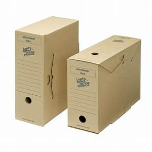 loeff39s archival universal box a4 filing storage box With document storage boxes cardboard