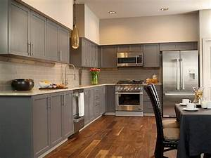 Cuisine Avec Parquet : tendance cuisine 50 exemples avec la couleur grise ~ Melissatoandfro.com Idées de Décoration