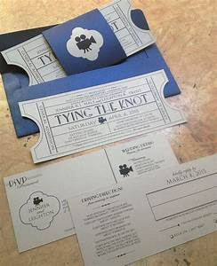 vintage cinema wedding invitation ticket with tear off With wedding invitations with tear off rsvp postcard