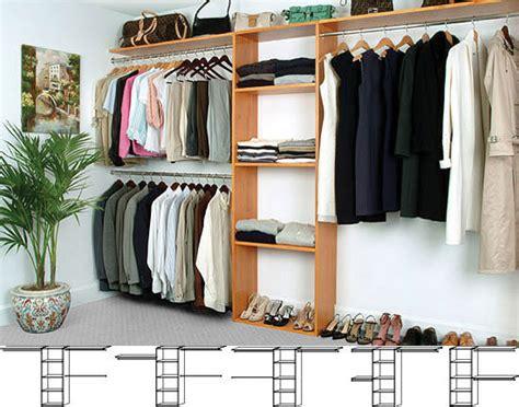 Reach In Closet Organizer by Solid Wood Closets Reach In Closet Organizer System Maple