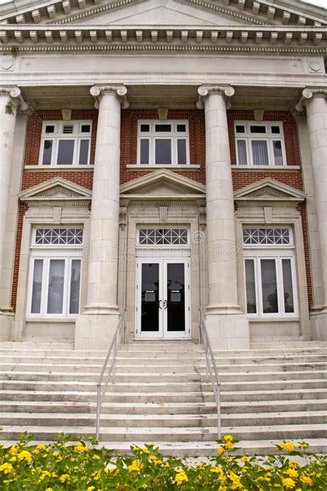 classic architecture institutional building stock image