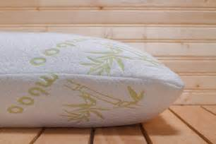 tranquil bamboo memory foam pillow bedrooms