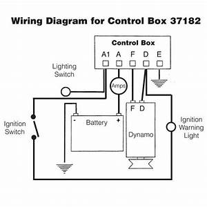 Lucas Rb106 Dynamo Regulator Control Box Type