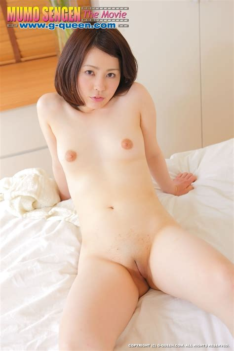 Anna Shimizu 清水杏奈 G-Queen MumoSengen パイパン無毛宣言 Shaved Pussy Photo