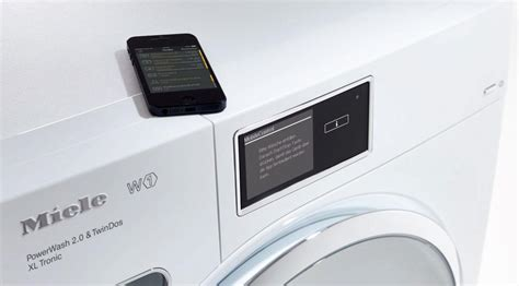 Maße Waschmaschine Miele by Miele Mobile App Let S Be Smart