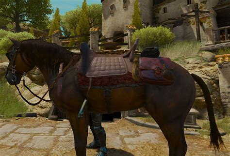 witcher saddle horse racing wikia equipment superior wiki