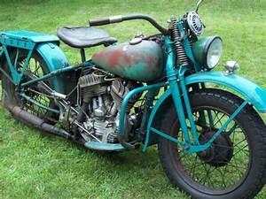 1942 Harley Davidson Wla 45 Flathead Ww2 Military Export Motorcycle Runs Great