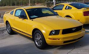 Screaming Yellow 2005 Mustang V6 - The Mustang Source